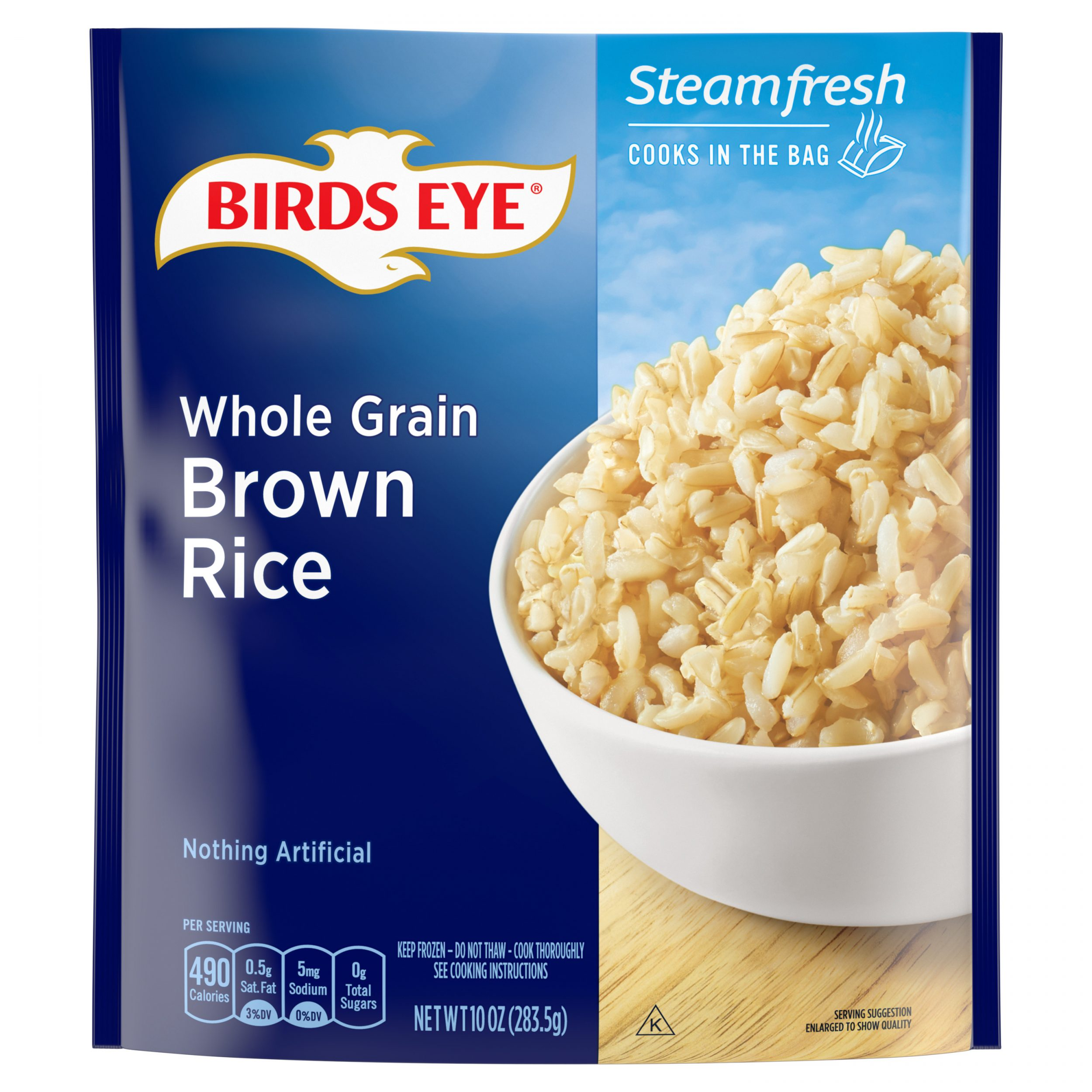 Birds Eye Steamfresh Selects Whole Grain Brown Rice