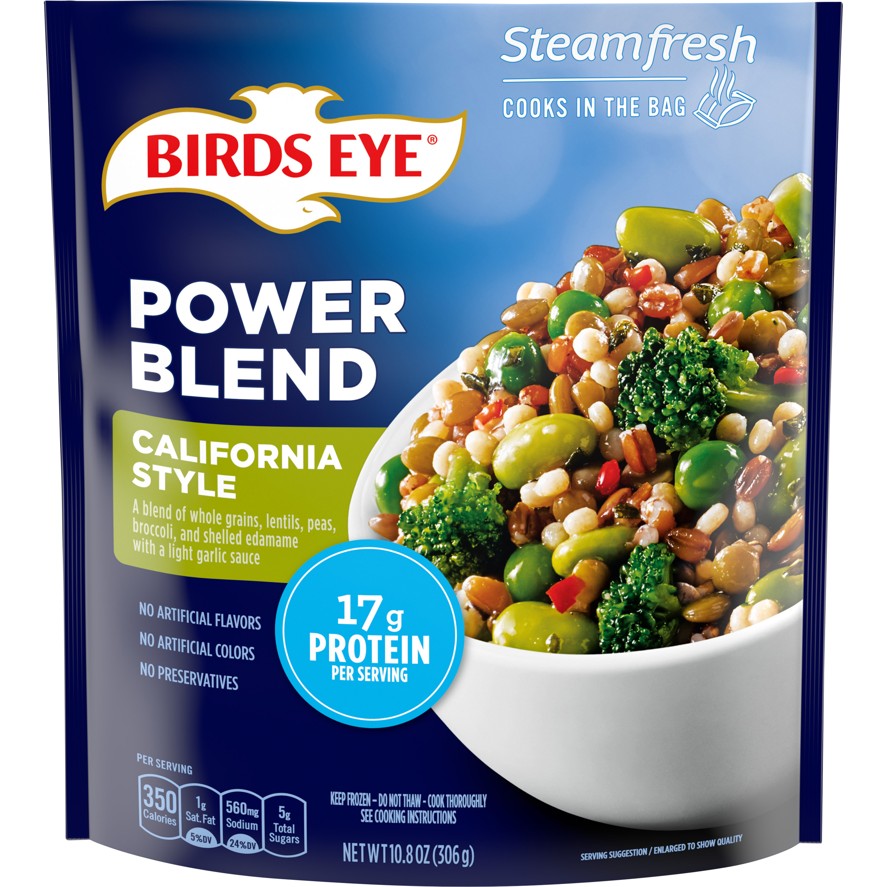 Birds Eye Steamfresh Protein Blends California Style