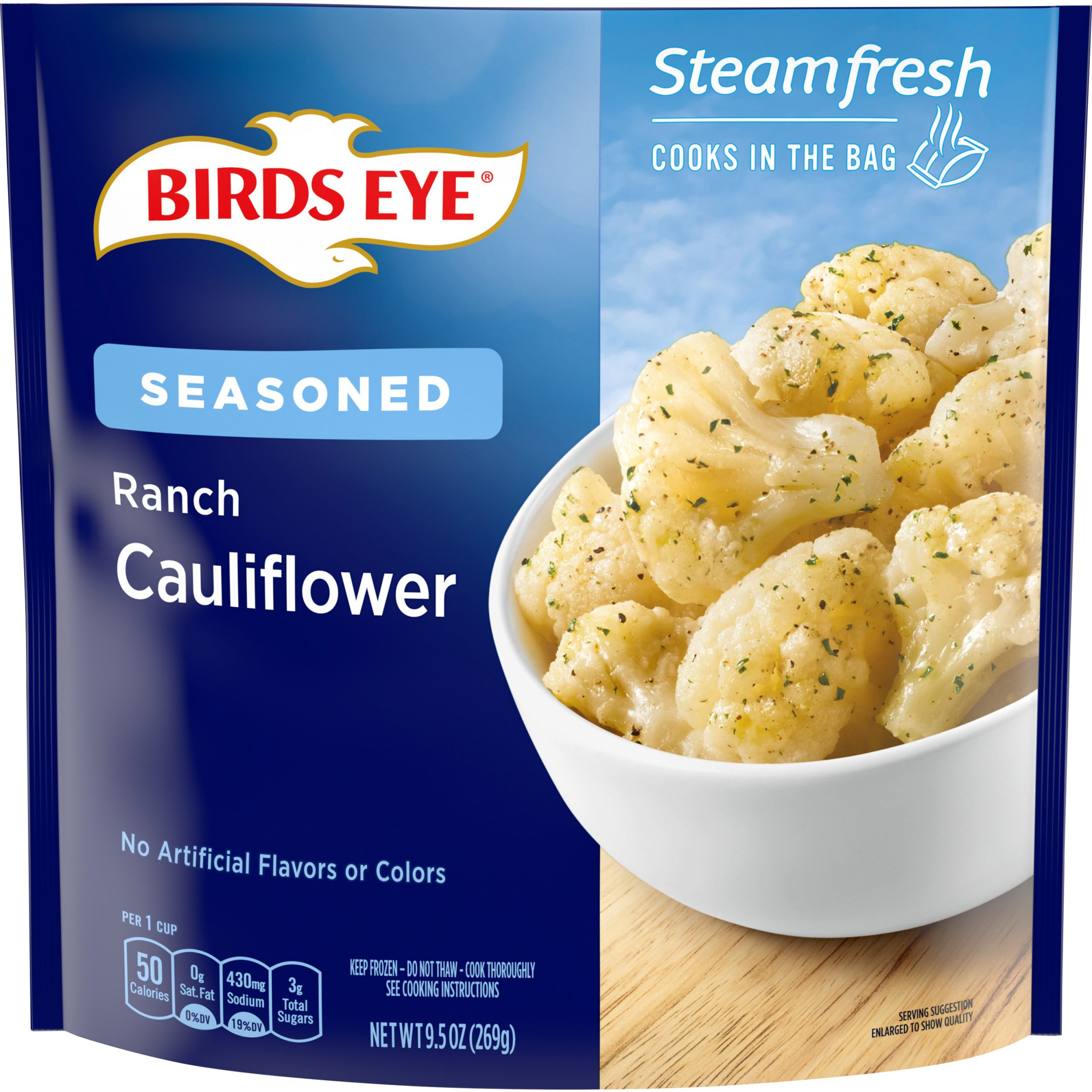 Birds Eye Steamfresh Flavor Full Ranch Cauliflower