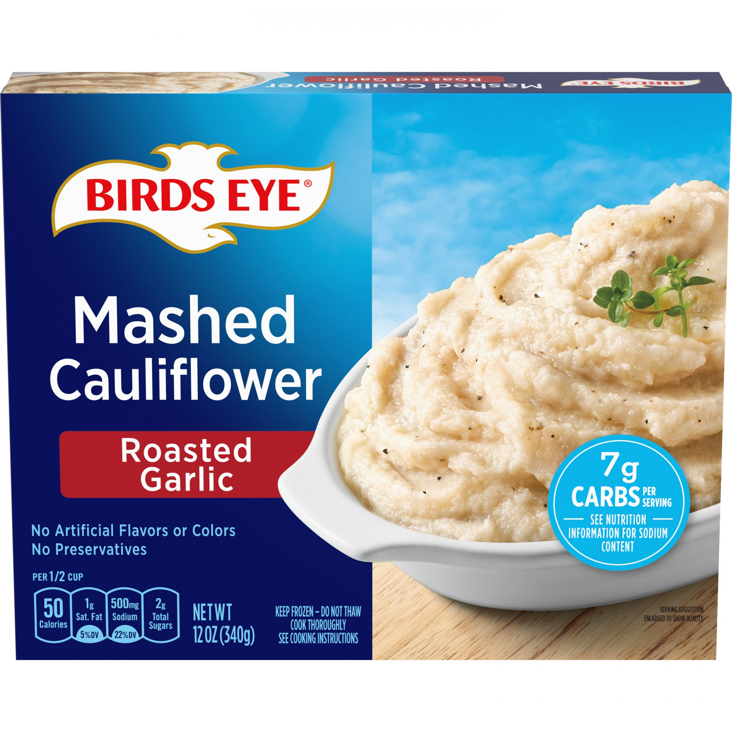 Birds Eye Steamfresh Veggie Made™ Mashed Cauliflower with Roasted Garlic