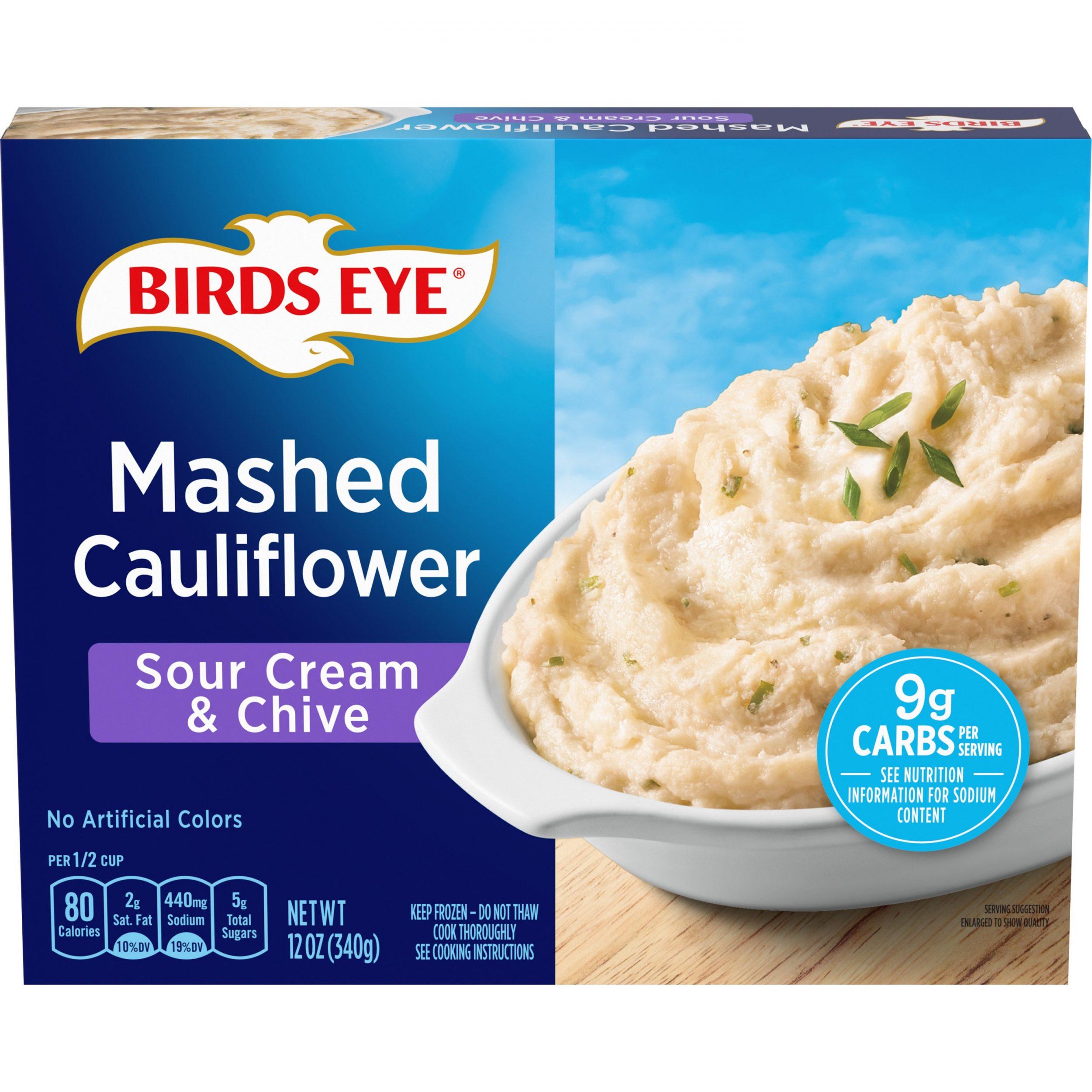 Birds Eye Steamfresh Veggie Made™ Mashed Cauliflower with Sour Cream & Chives