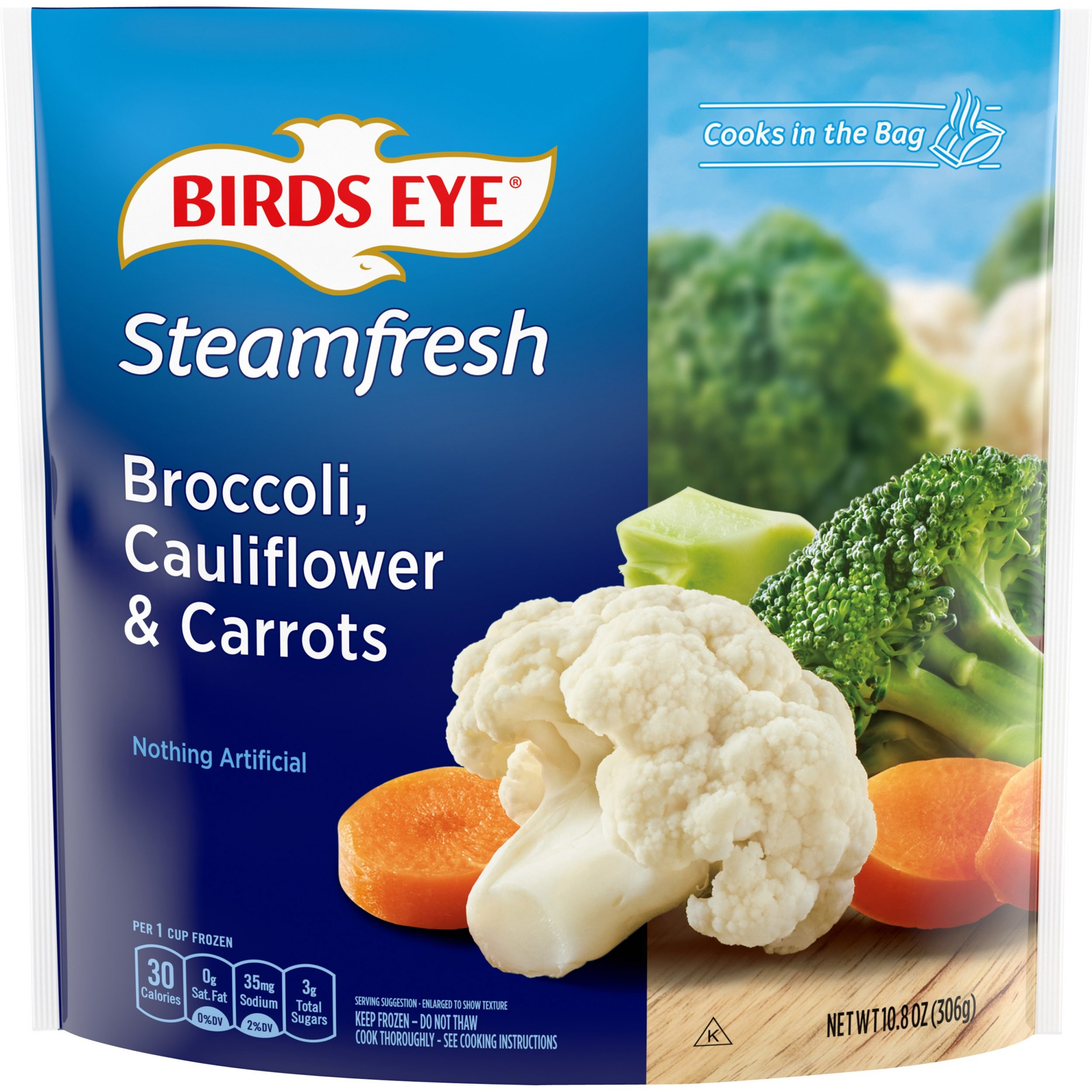 Birds Eye Steamfresh Mixtures Broccoli, Cauliflower & Carrots