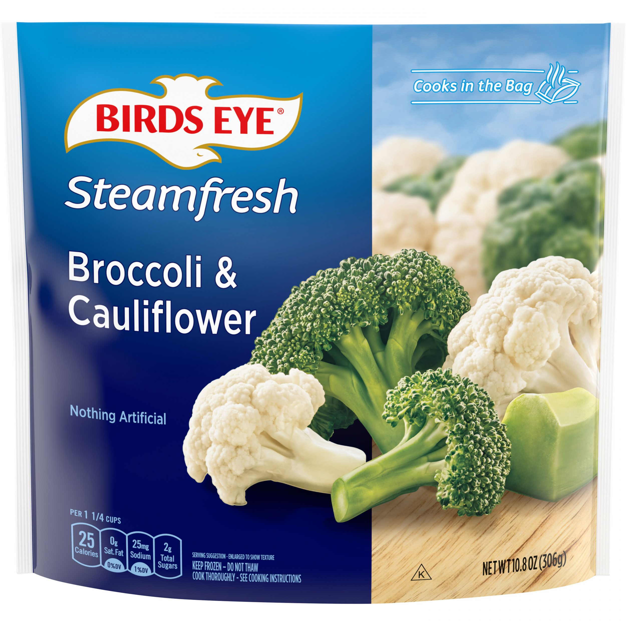 Birds Eye Steamfresh Mixtures Broccoli & Cauliflower