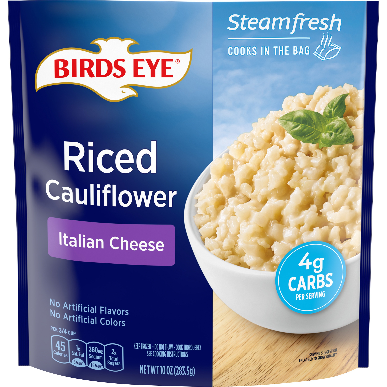 Birds Eye Steamfresh Veggie Made™ Riced Cauliflower with Italian Cheese