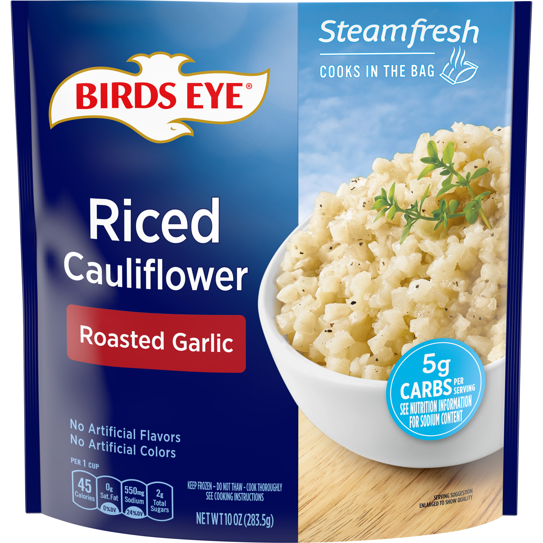 Birds Eye Steamfresh Veggie Made™ Riced Cauliflower with Roasted Garlic