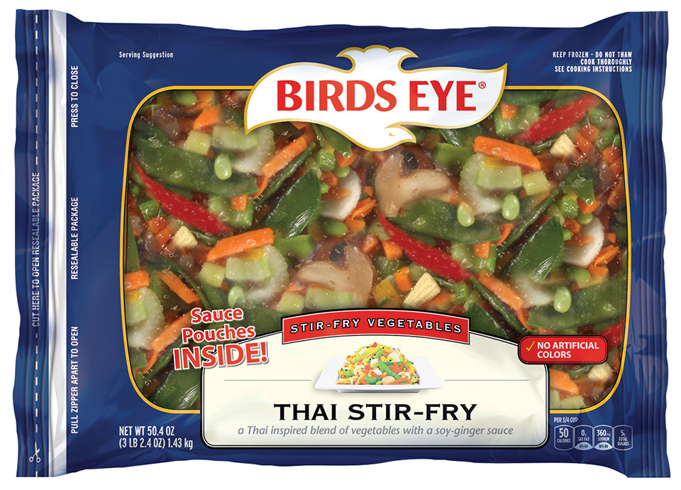 Birds Eye Stir-Fry Vegetables Thai Stir-Fry