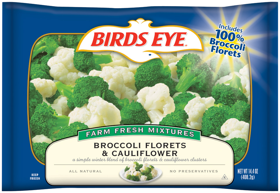 Birds Eye Farm Fresh Mixtures Broccoli Florets & Cauliflower