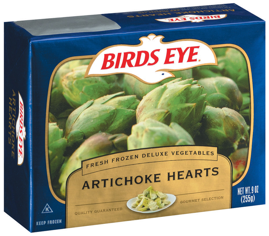 Birds Eye Fresh Frozen Deluxe Vegetables Artichoke Hearts