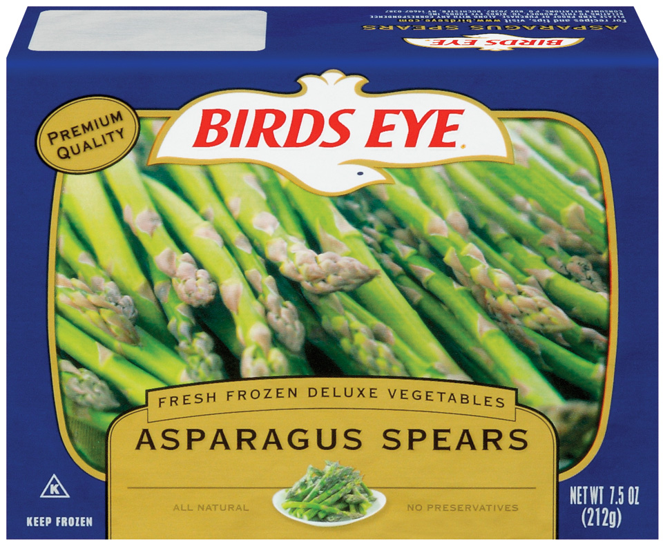 Birds Eye Fresh Frozen Deluxe Vegetables Asparagus Spears