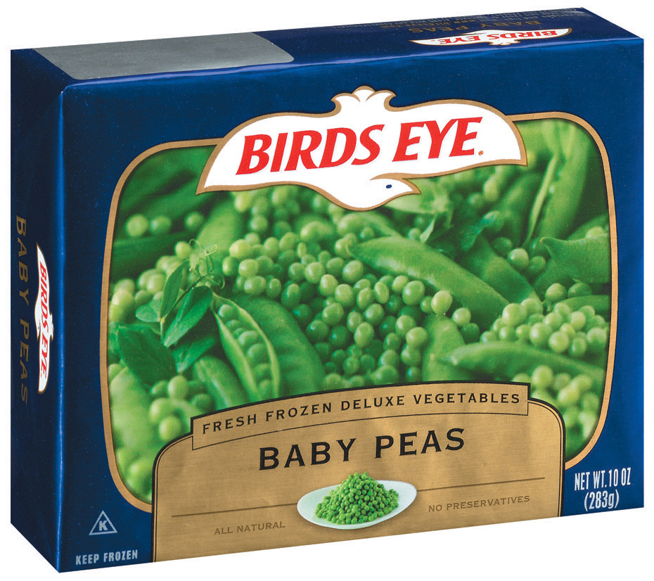 Birds Eye Fresh Frozen Deluxe Vegetables Baby Peas