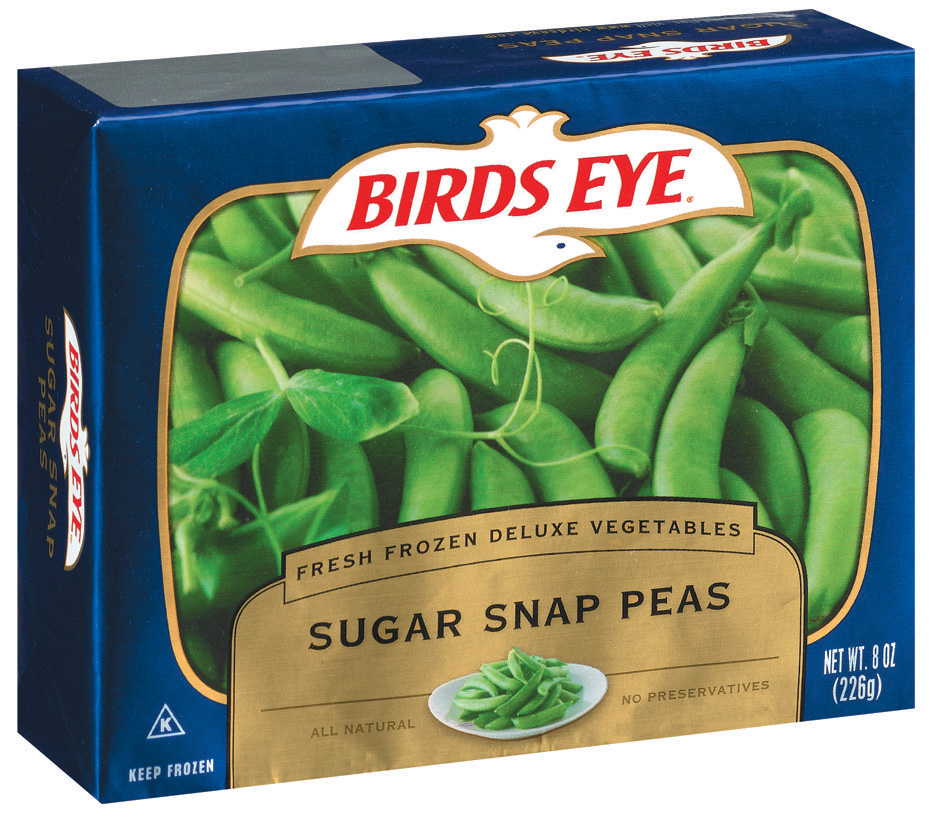 Birds Eye Fresh Frozen Deluxe Vegetables Sugar Snap Peas