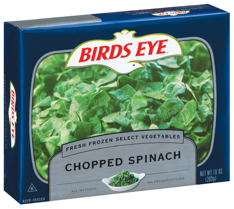 Birds Eye Fresh Frozen Select Vegetables Chopped Spinach