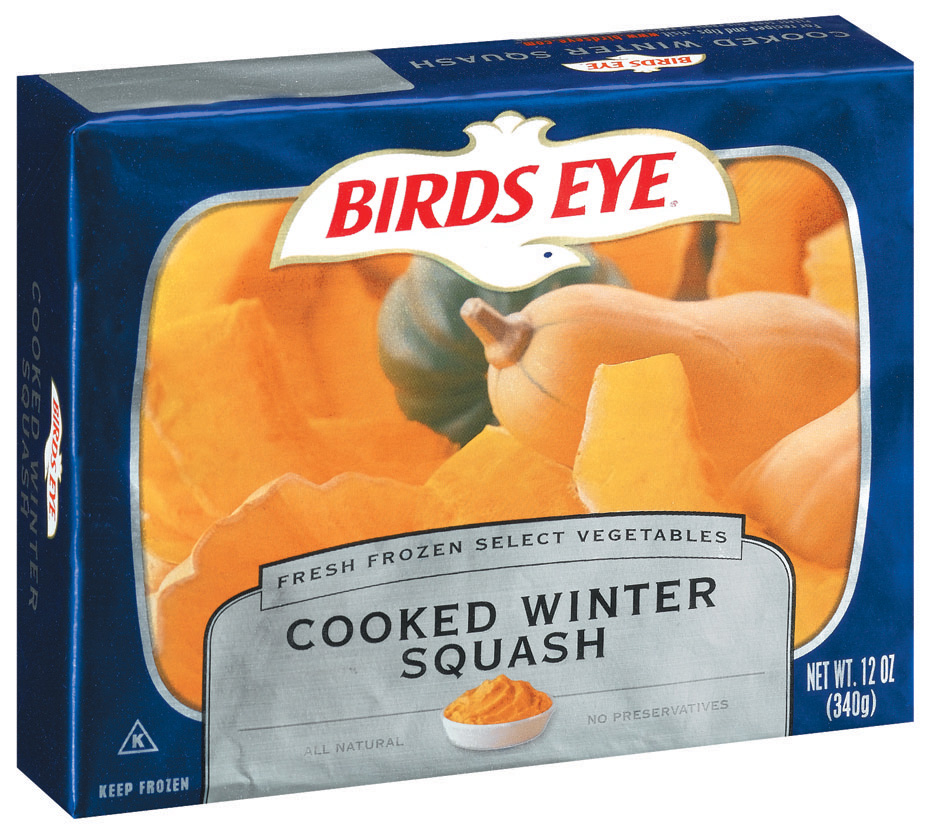 Birds Eye Fresh Frozen Select Vegetables Cooked Winter Squash