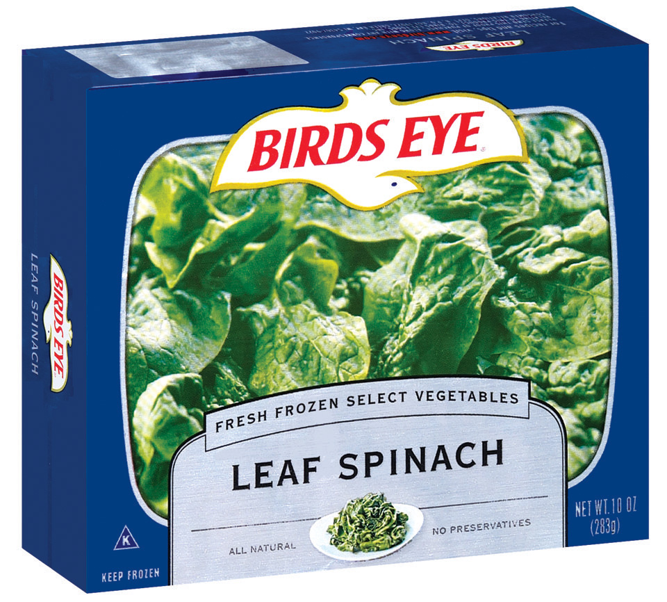 Birds Eye Fresh Frozen Select Vegetables Leaf Spinach