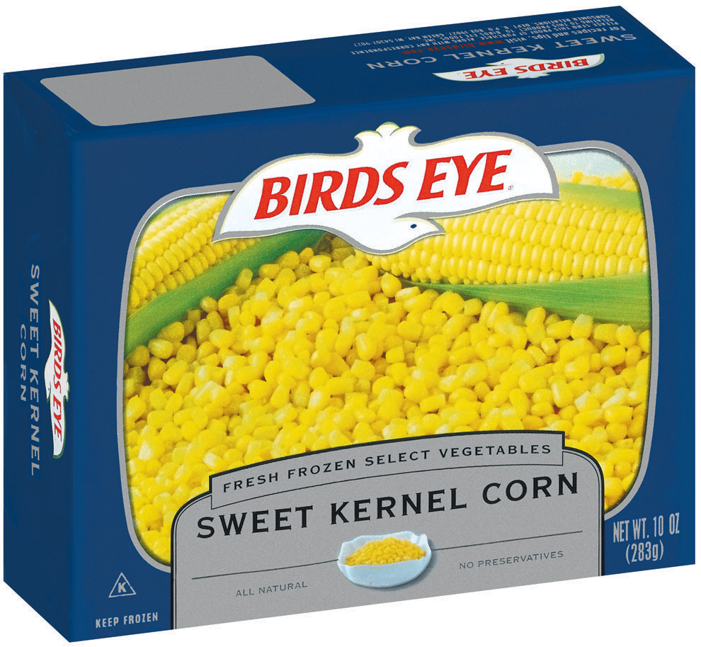 Birds Eye Fresh Frozen Select Vegetables Sweet Kernel Corn