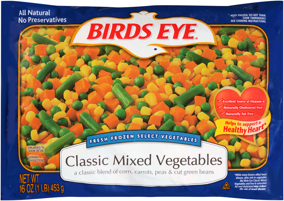 Birds Eye Select Vegetables Classic Mixed Vegetables