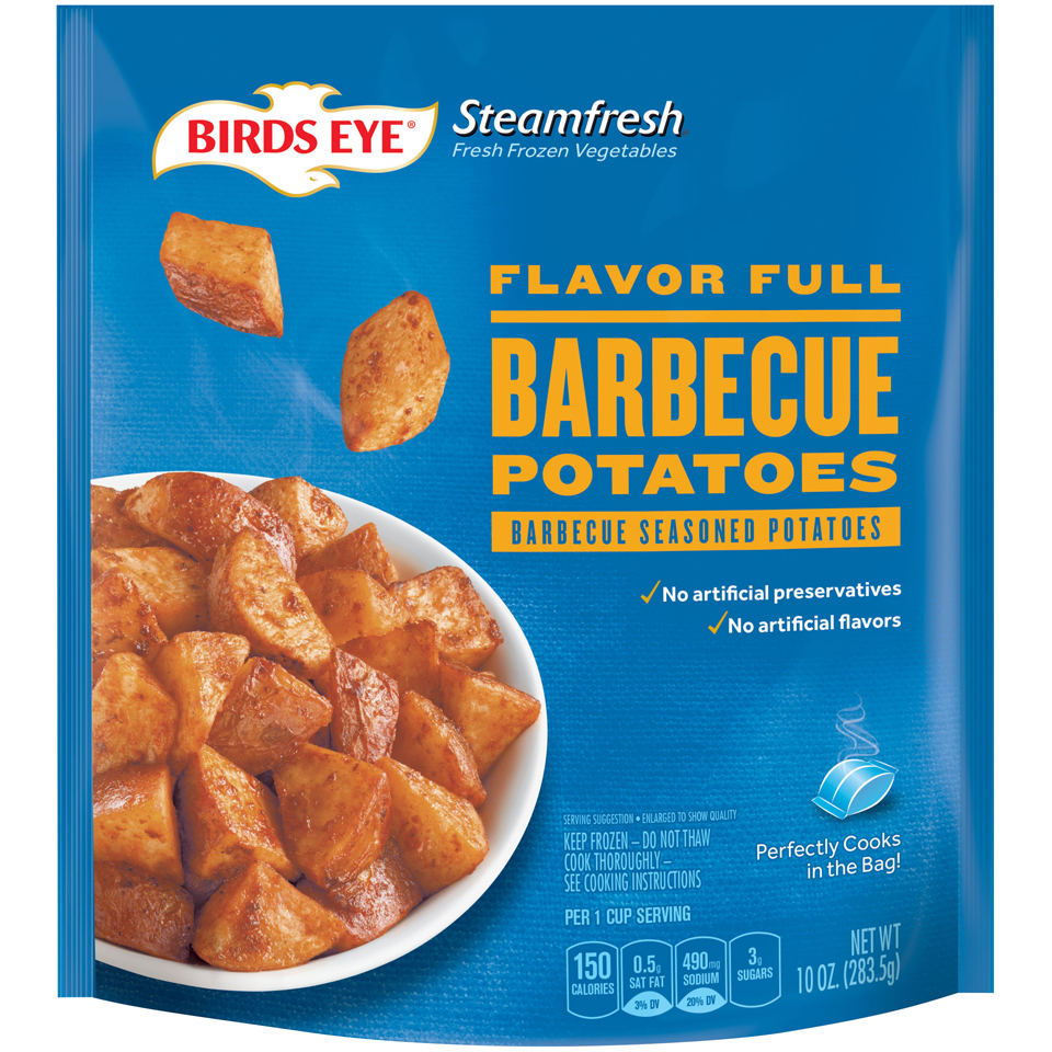 Birds Eye Steamfresh Flavor Full Barbecue Potatoes