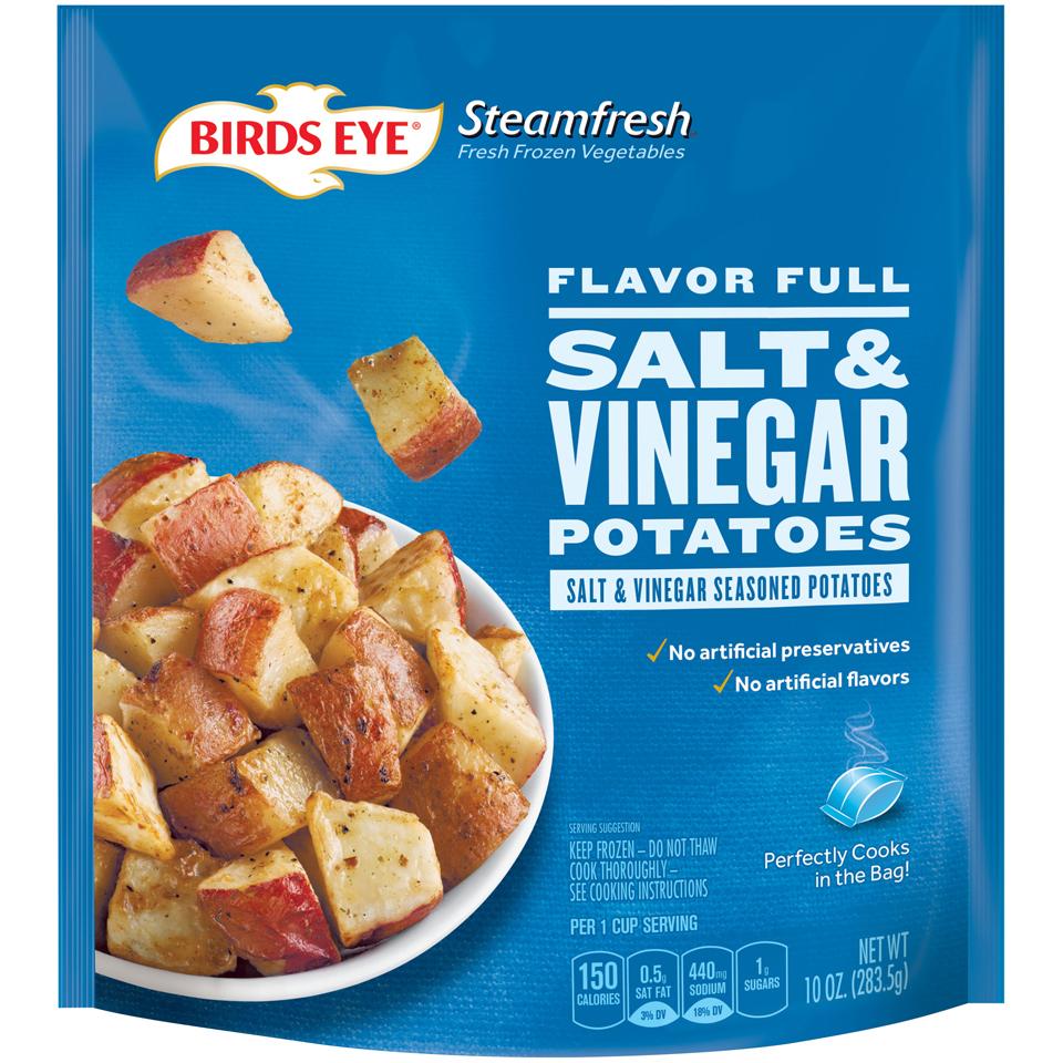 Birds Eye Steamfresh Flavor Full Salt & Vinegar Potatoes