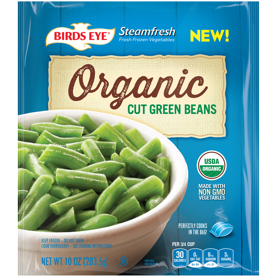 Birds Eye Steamfresh Organic Cut Green Beans
