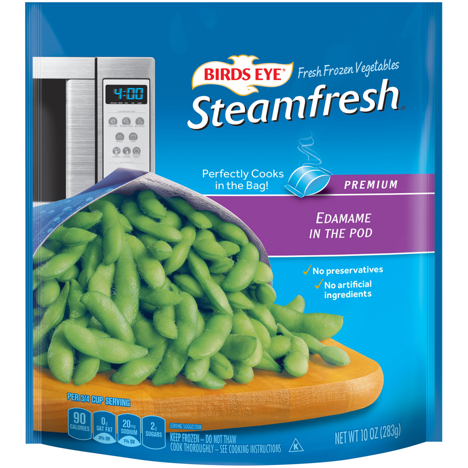 Birds Eye Steamfresh Premium Unshelled Edamame