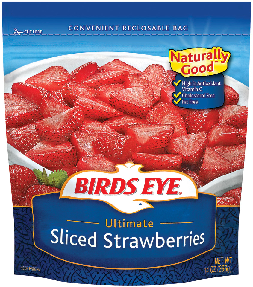 Birds Eye Ultimate Sliced Strawberries