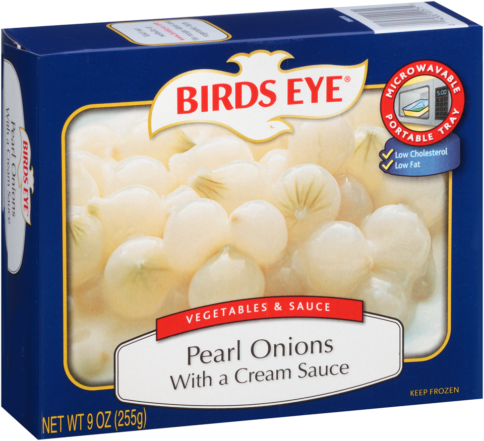Birds Eye Vegetables & Sauce Pearl Onions with a Cream Sauce