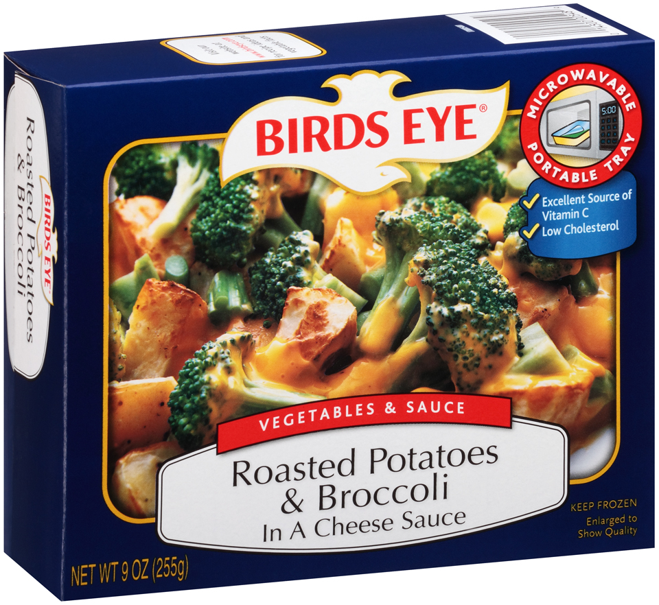 Birds Eye Vegetables & Sauce Roasted Potatoes & Broccoli in a Cheese Sauce