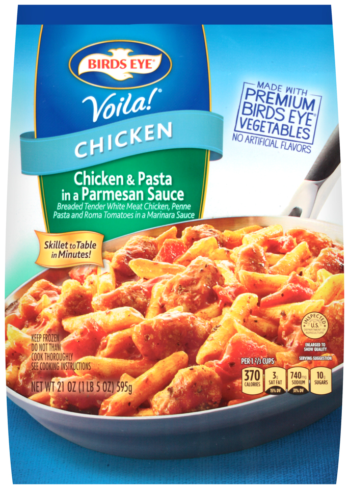 Birds Eye® Voila!® Chicken & Pasta in a Parmesan Sauce