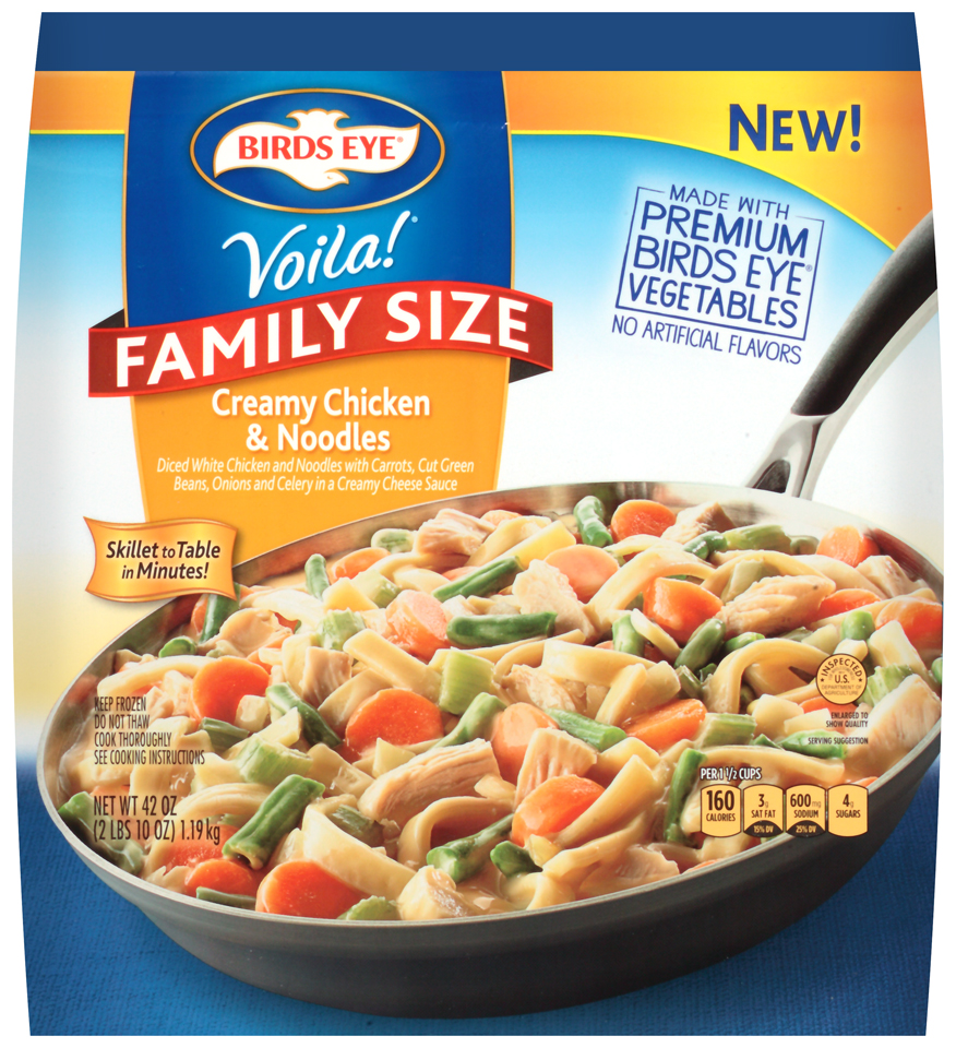 Birds Eye® Voila!® Creamy Chicken & Noodles Family Size