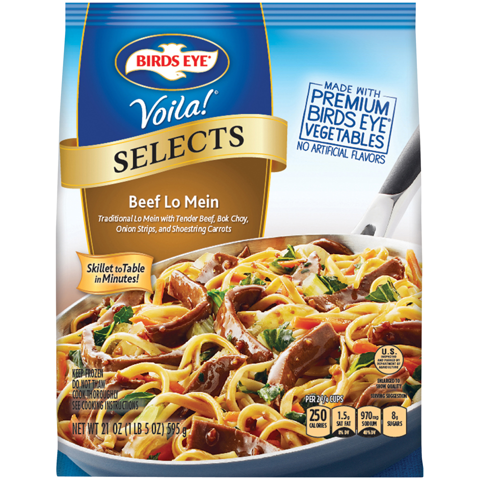 Birds Eye® Voila!® Selects Beef Lo Mein