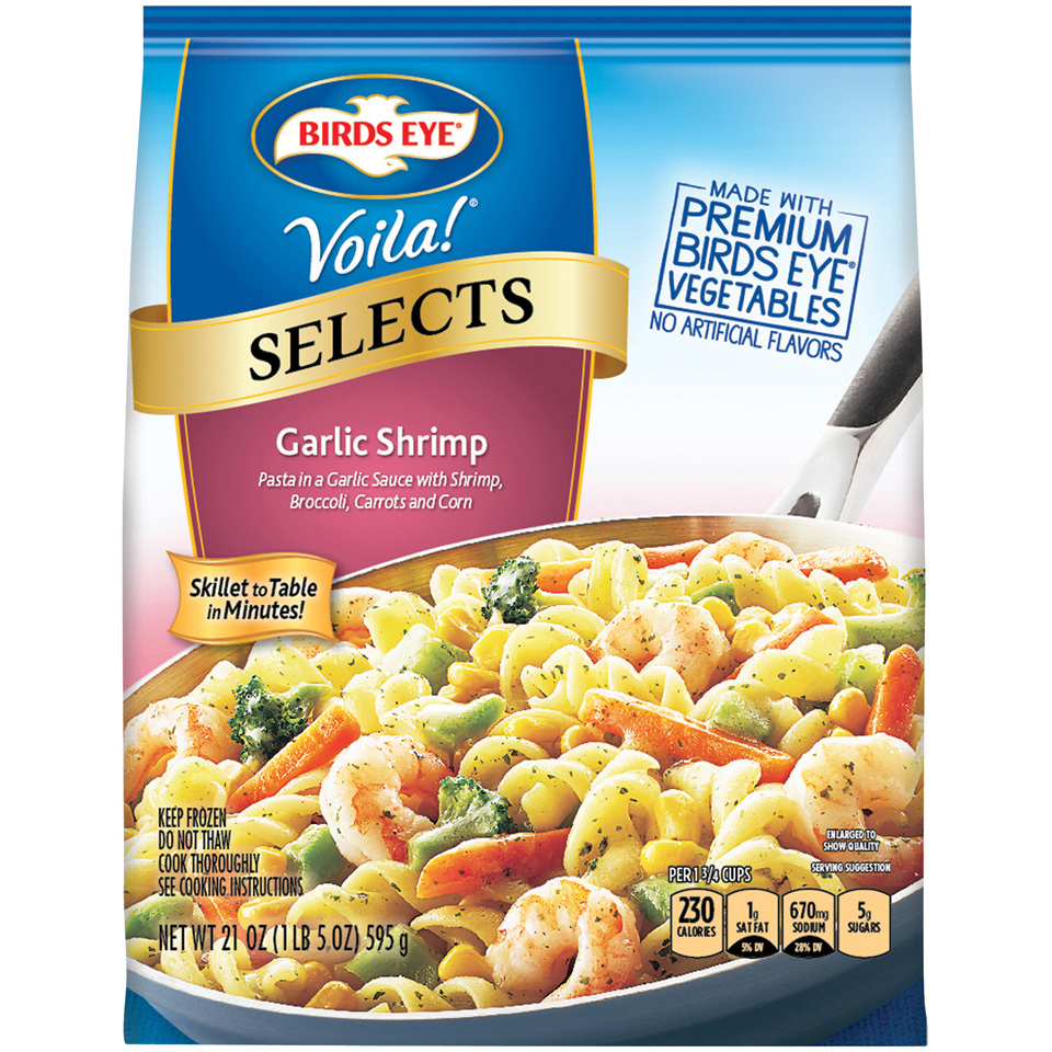 Birds Eye® Voila!® Selects Garlic Shrimp