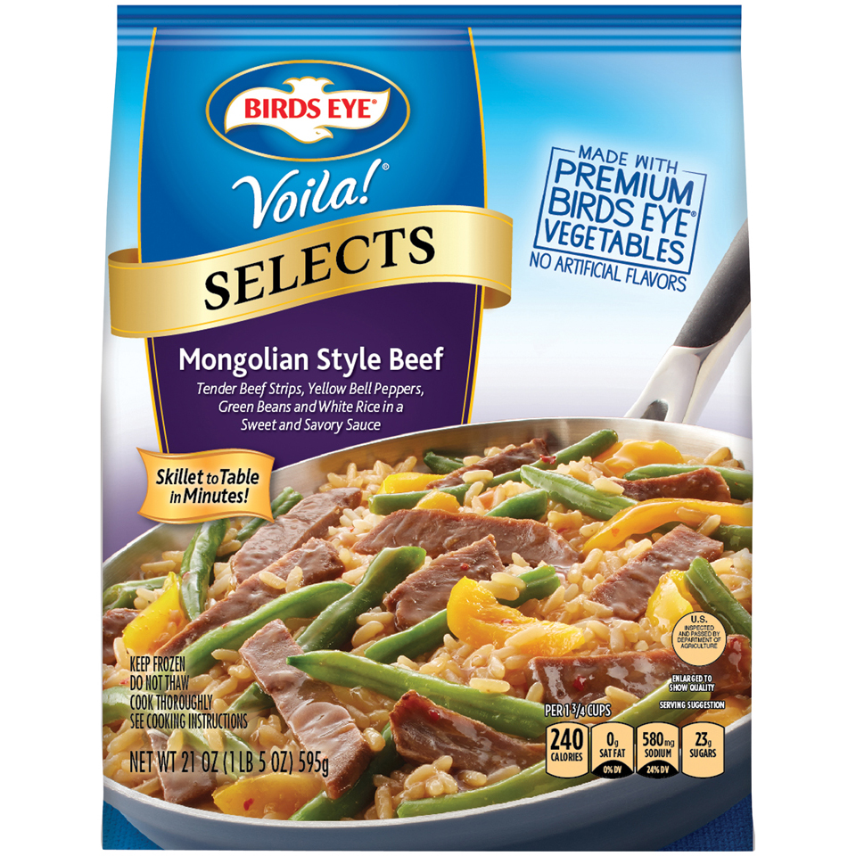 Birds Eye® Voila!® Selects Mongolian Beef