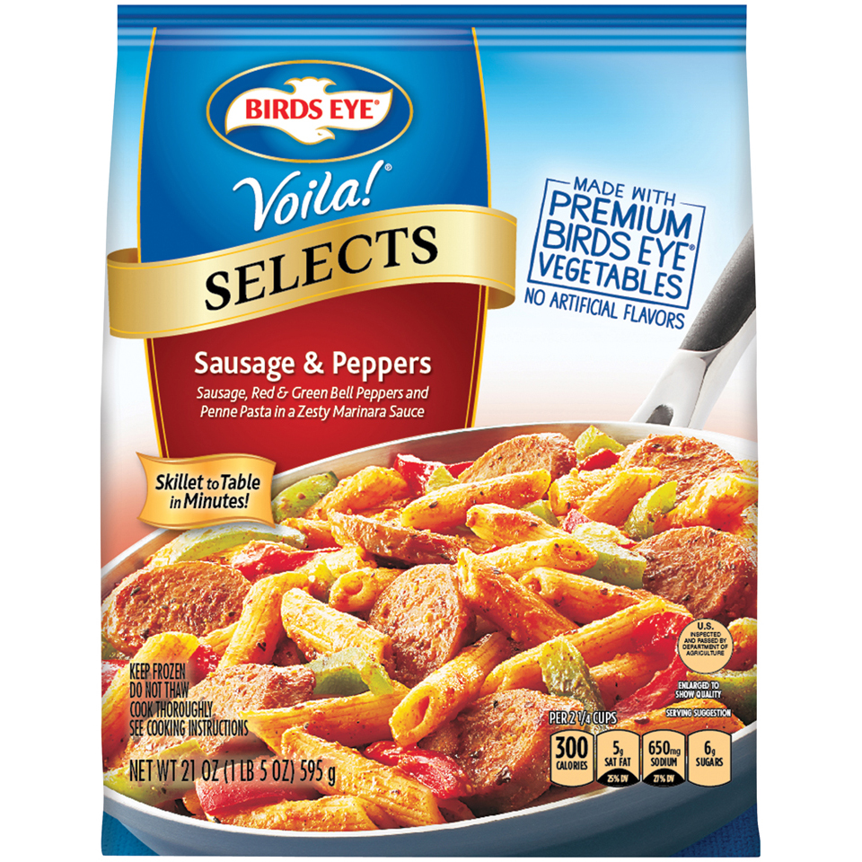 Birds Eye® Voila!® Selects Sausage & Peppers