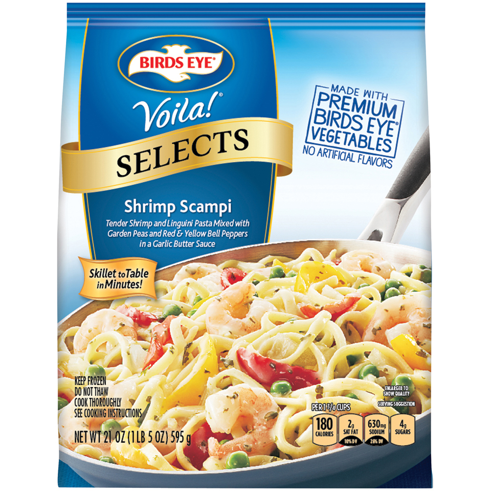 Birds Eye® Voila!® Selects Shrimp Scampi