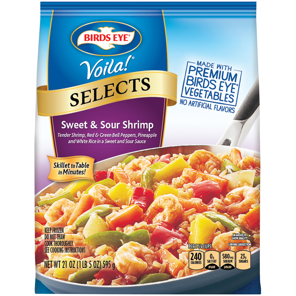 Birds Eye® Voila!® Selects Sweet & Sour Shrimp