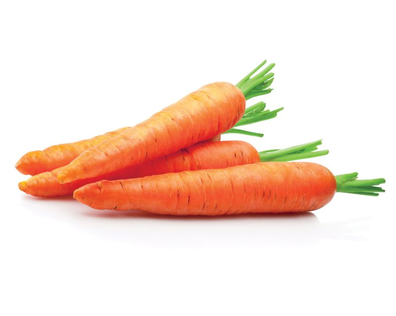 Frozen vegetables retain their nutrients during transport (carrots bg)