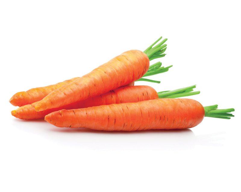 Frozen vegetables retain their nutrients during transport (carrots bg)