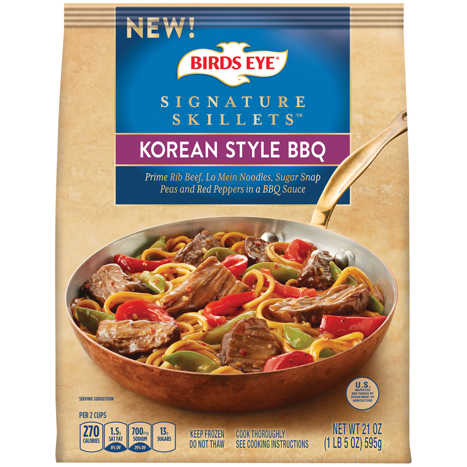 Signature Skillets Korean Style BBQ