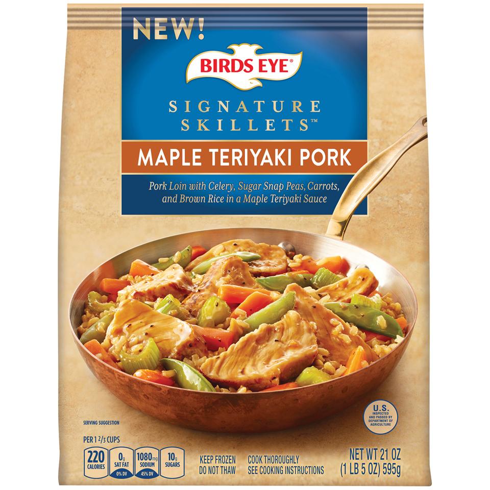 Signature Skillets Maple Teriyaki Pork