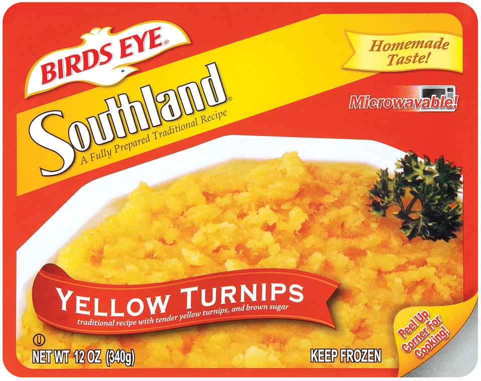 Birds Eye McKenzie's Southland Yellow Turnips