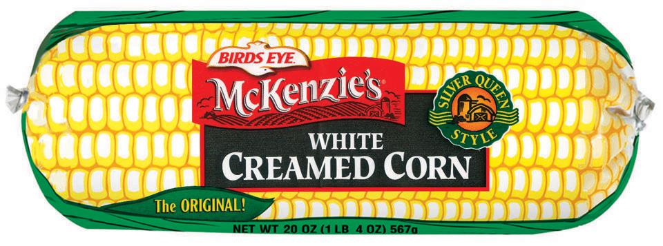 Birds Eye McKenzie's White Creamed Corn