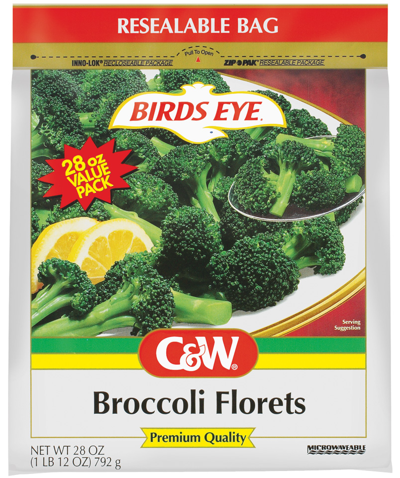 C&W Premium Quality Broccoli Florets