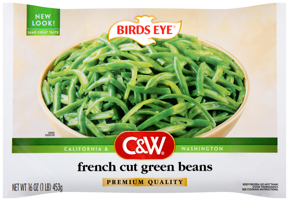C&W Premium Quality French Cut Green Beans