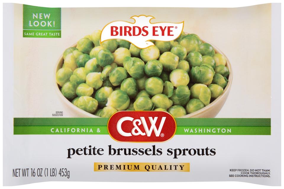 C&W Premium Quality Petite Brussels Sprouts