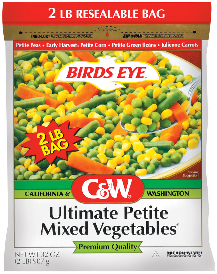 C&W Premium Quality Ultimate Petite Mixed Vegetables