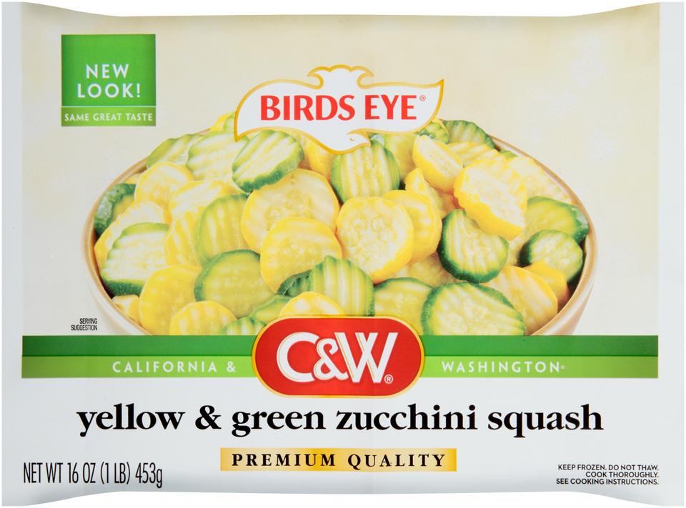 C&W Premium Quality Yellow & Green Zucchini Squash
