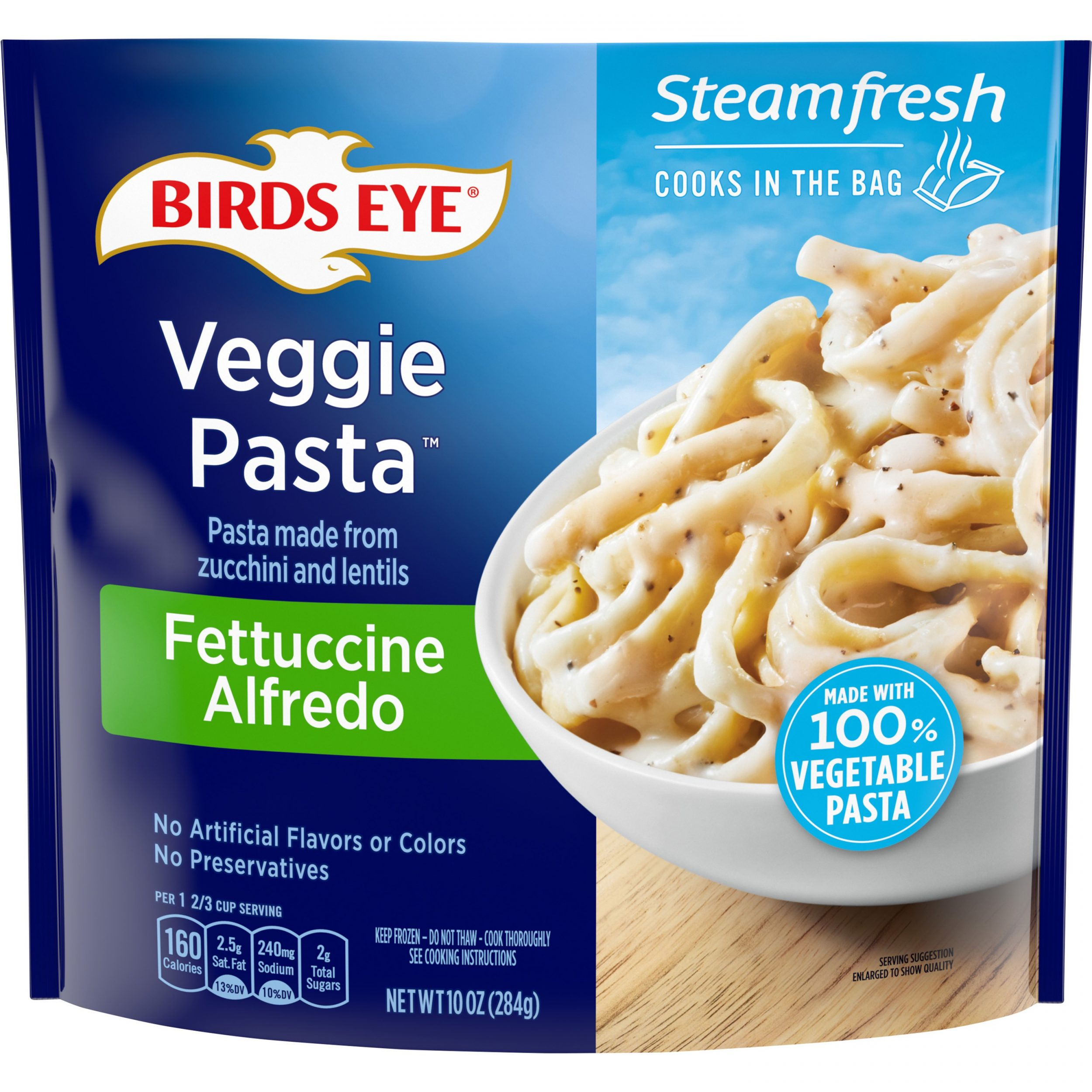 Birds Eye Steamfresh Veggie Made™ Fettuccine Alfredo
