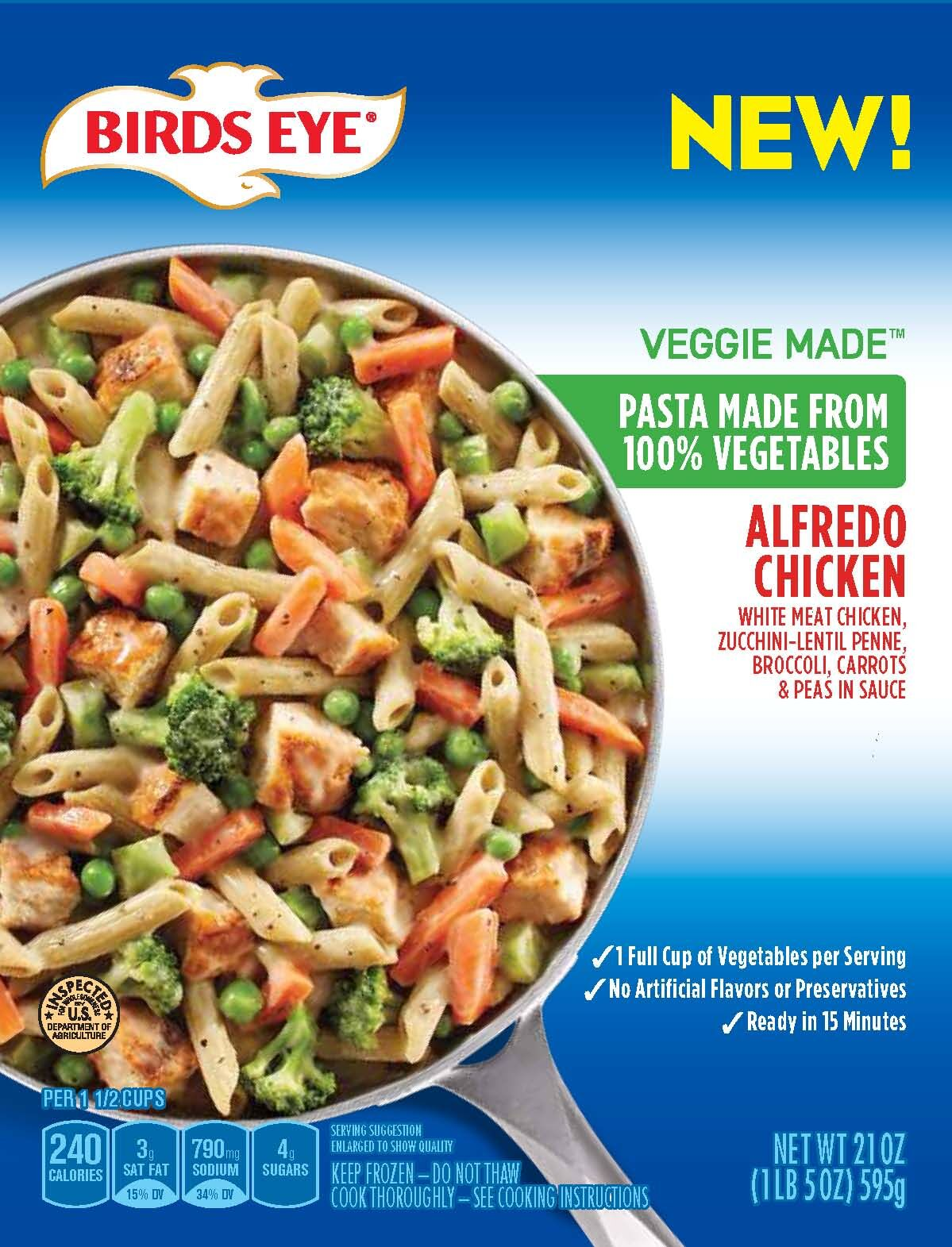 Birds Eye Veggie Made™ Alfredo Chicken