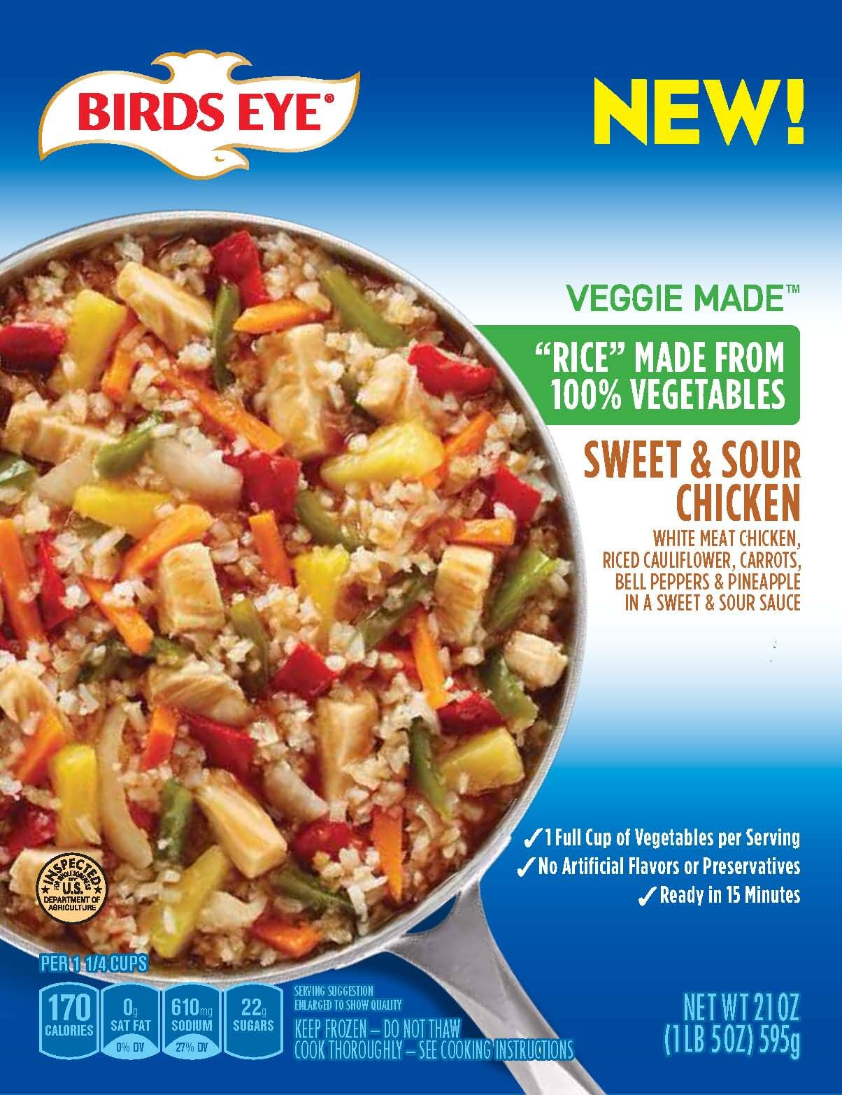 Birds Eye Veggie Made™ Sweet & Sour Chicken