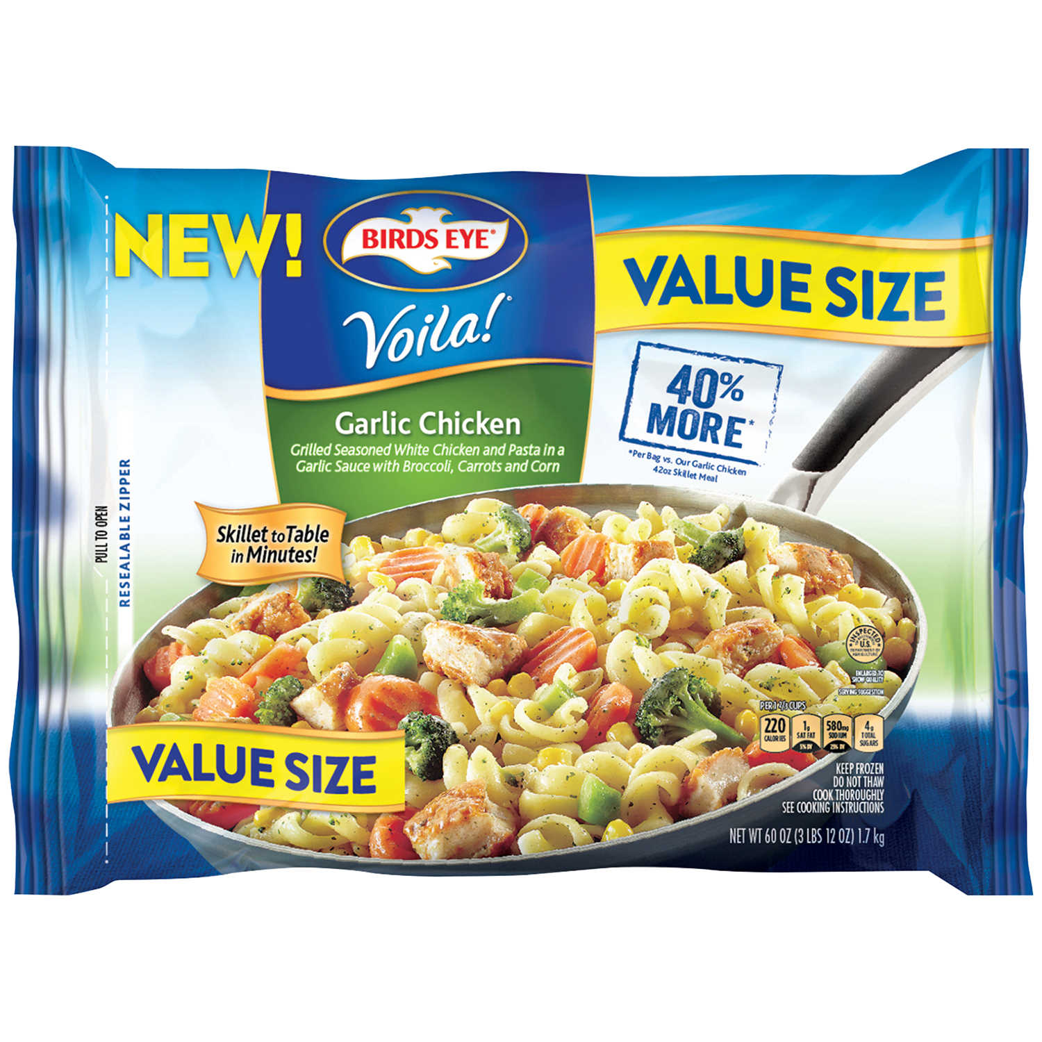 Birds Eye® Voila!® Garlic Chicken Value Size